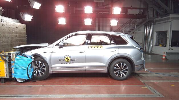 EuroNCAP: Audi A6 in VW Touareg dobila pet zvezdic, Suzuki Jimny tri (video) (foto: EuroNCAP)