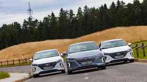 Primerjalni test: Hyundai Ioniq hibrid, priključni hibrid in EV