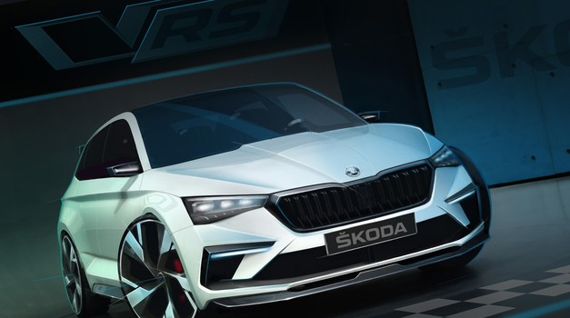 Škoda Vision RS bo ekološko naravnana športna kombilimuzina (foto: Škoda)