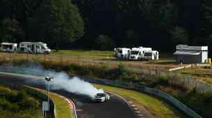 Video: Ford Mustang je 'predriftal' severno pentljo dirkališča Nürburgring