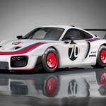 Porsche je reinkarniral slavni dirkalnik 935 'Moby Dick' (foto: Porsche)