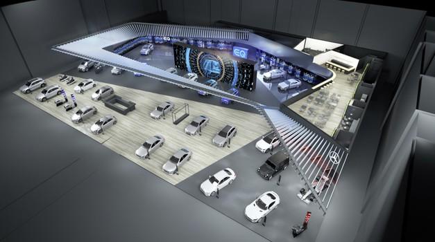 Video: Še zadnji predogled Mercedes-Benza razreda B pred uradno predstavitvijo (foto: Daimler)