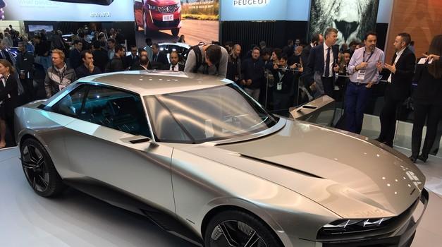Pariz 2018: Peugeot v znamenju elektrike in retro oblikovanega kupeja (foto: Dušan Lukič)