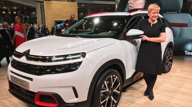 Pariz 2018: Citroën je pokazal evropskega C5 Aircrossa, hibrid bo popil le 2 litra na 100 kilometrov (foto: Dušan Lukič)