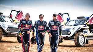 Red Bull in Mini na Dakar 2019 s trojico legendarnih dirkačev