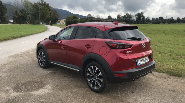 Novo v Sloveniji: Mazda 6 in Mazda CX-3 (foto: Tomaž Porekar)