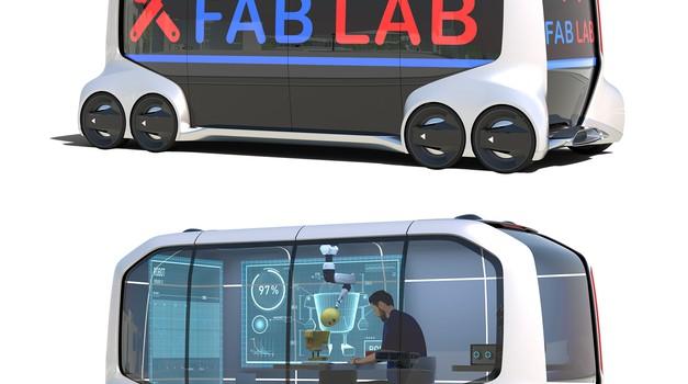 Toyota in Softbank z novimi rešitvami za mobilnost prihodnosti (foto: Toyota)