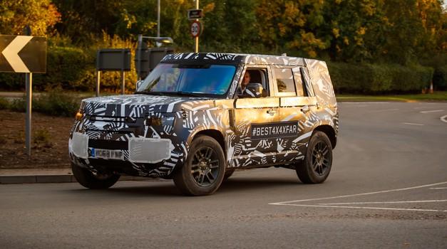 Razkrivamo: Land Rover že preizkuša novega Defenderja (foto: Land Rover)