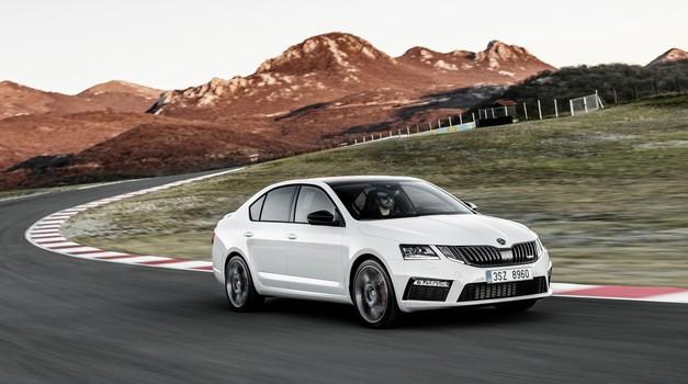 Prihodnja Škoda Octavia vRS bo hibridna (foto: Škoda)