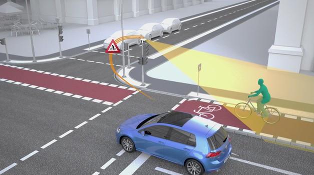 Volkswagen in Siemens za večjo varnost v križiščih (foto: Newspress)
