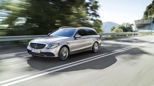 Novo v Sloveniji: Mercedes-Benz razred C (foto: Daimler)