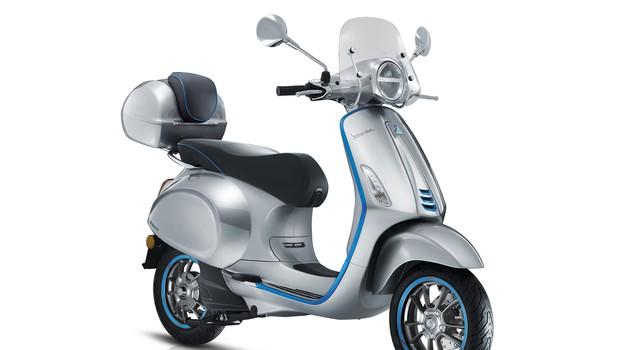 Električna Vespa prihodnji mesec prihaja v prodajne salone (foto: Piaggio)