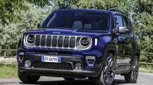 Jeep Renegade orje ledino na področju električnih vozil koncerna FCA v Evropi