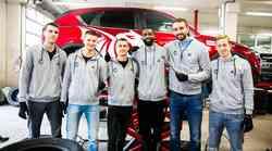 Pri Španu poskrbeli za zimsko obutev vozil košarkarjev Petrol Olimpije