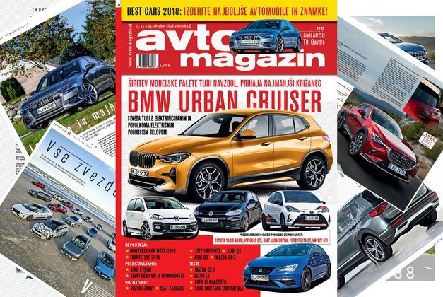 Izšel je novi Avto magazin! Testi: Audi A6, Lexus LS, Ford Mustang Convertible, Volkswagen Golf GTI (foto: MJ)