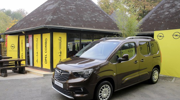 Novo v Sloveniji: Opel Combo Life (foto: Opel Slovenija)
