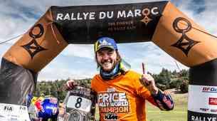 S Tino čez bankino 27#: Toby Price o naslovu svetovnega prvaka, Dakarju, Loebu in bundesligi