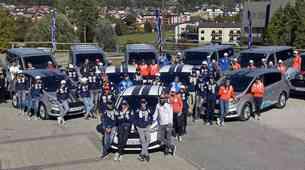 Ford je slovenskim junakom zime predal 66 avtomobilov