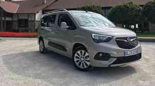 Opel Combo Life je eden od treh