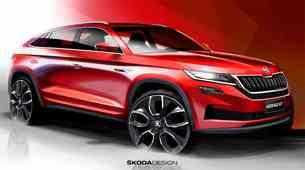 Škoda sledi Audiju in predstavlja svoj kupejevsko oblikovan SUV; prihaja model Scala