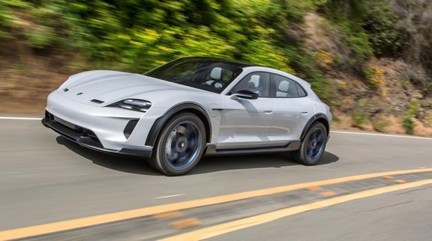 Porsche Mission E Cross Turismo bo šel v serijsko proizvodnjo (foto: Porsche)