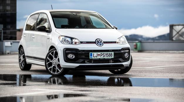 Kratki test: Volkswagen Up! GTI (foto: Uroš Modlic)