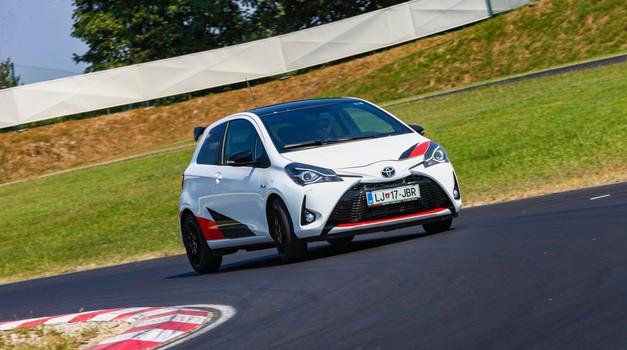 Kratki test: Toyota Yaris GRMN (foto: Saša Kapetanovič)