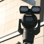 Kakšna je naloga belih policijskih kombijev s kamerami na strehah? (foto: Policija)