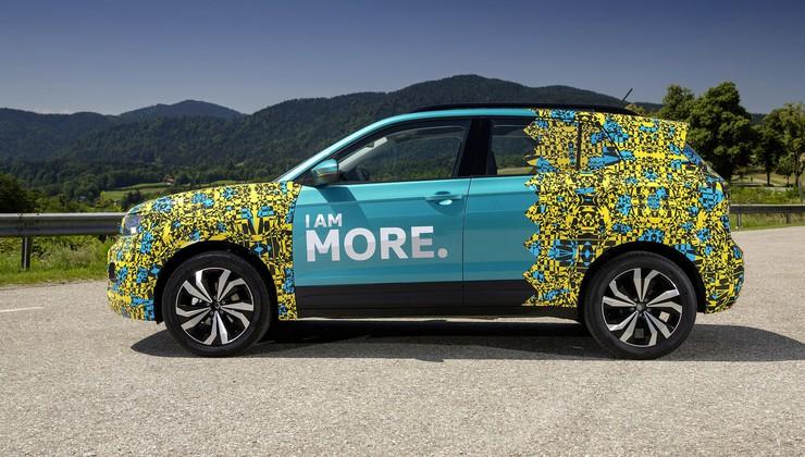 Video: Volkswagen T-Cross prvič brez kamuflažne folije*