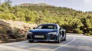 Audi R8 je polepšan in okrepljen