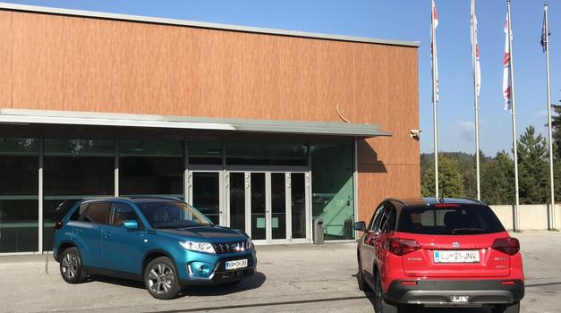 Novo v Sloveniji: Suzuki Vitara (foto: Tomaž Porekar)