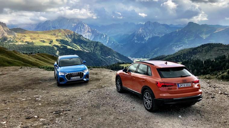 Odraščanje: vozili smo Audi Q3 (foto: Sebastjan Plevnjak)