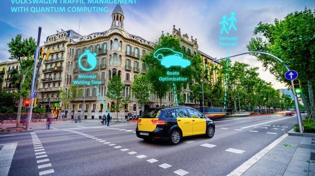 Volkswagen si bo pomagal s kvantnimi računalniki (foto: Volkswagen)