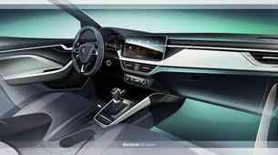 Škoda Scala sledi konceptu Vision RS tudi v notranjosti