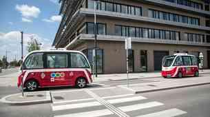 Na Dunaju bosta začela delovati prva avtonomna avtobusa na kratke razdalje