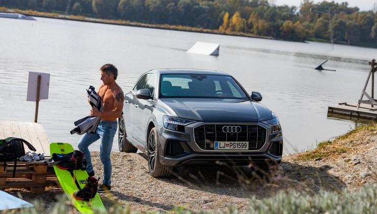 Test: Audi Q8 50 TDI quattro ponuja pogled v prihodnost