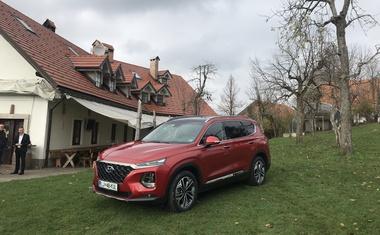 Novo v Sloveniji: Hyundai Santa Fe