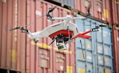 Škoda testira dron za pregled zalog