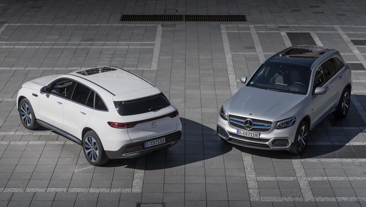Je Mercedes GLC F-Cell priključni hibrid ali električni avtomobil?