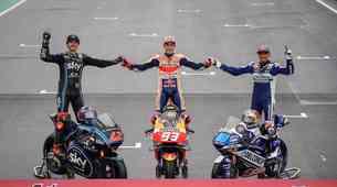 MotoGP, VN Valencije: Deževno slovo sezone