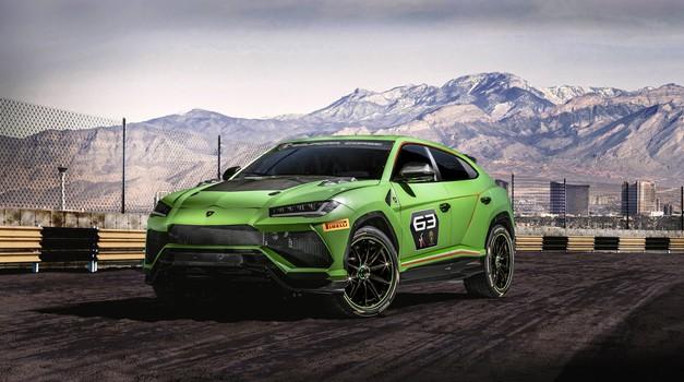 Urus ST-X bo novi junak nove Lamborghinijeve dirkaške serije (foto: Lamborghini)