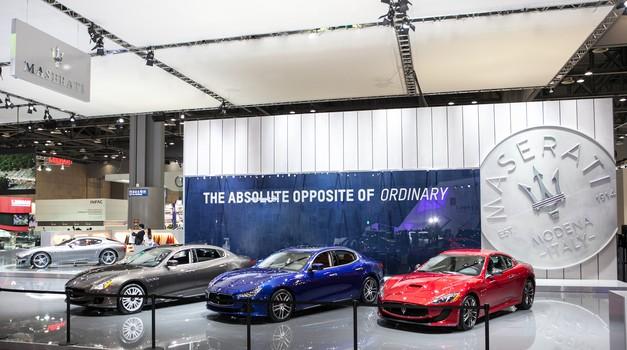Maseratiju se obetajo boljši časi (foto: Maserati)