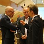 Evert Jan Schuurman, Ministrstvo za transport in vode Kraljevine Nizozemske, Primož Lemež, Emobility in mag. Uroš Salobir, ELES (foto: Helena Krmelj)