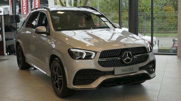 Novo v Sloveniji: Mercedes-Benz GLE (foto: Matija Janežič)