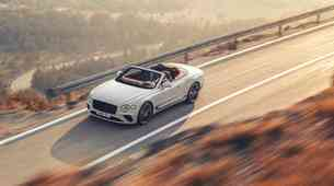 Prenovljeni Bentley Continental GT dobil tudi platneno streho