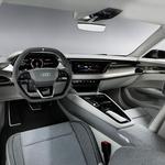 Los Angeles 2018: Audi navdušuje s študijo električnega štirivratnega kupeja Audija e-trona GT (foto: Audi)