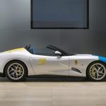 Ferrari SP3JC je Ferrarijev novi unikatni cestni dirkalnik (foto: Ferrari)
