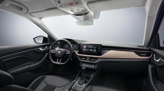 Škoda Scala je razkrila svojo notranjost (foto: Škoda)