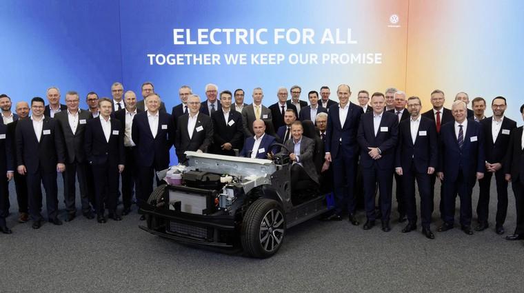 Volkswagen je objavil podrobnosti največje električne ofenzive v zgodovini (foto: Volkswagen)