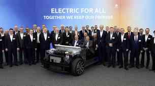 Volkswagen je objavil podrobnosti največje električne ofenzive v zgodovini